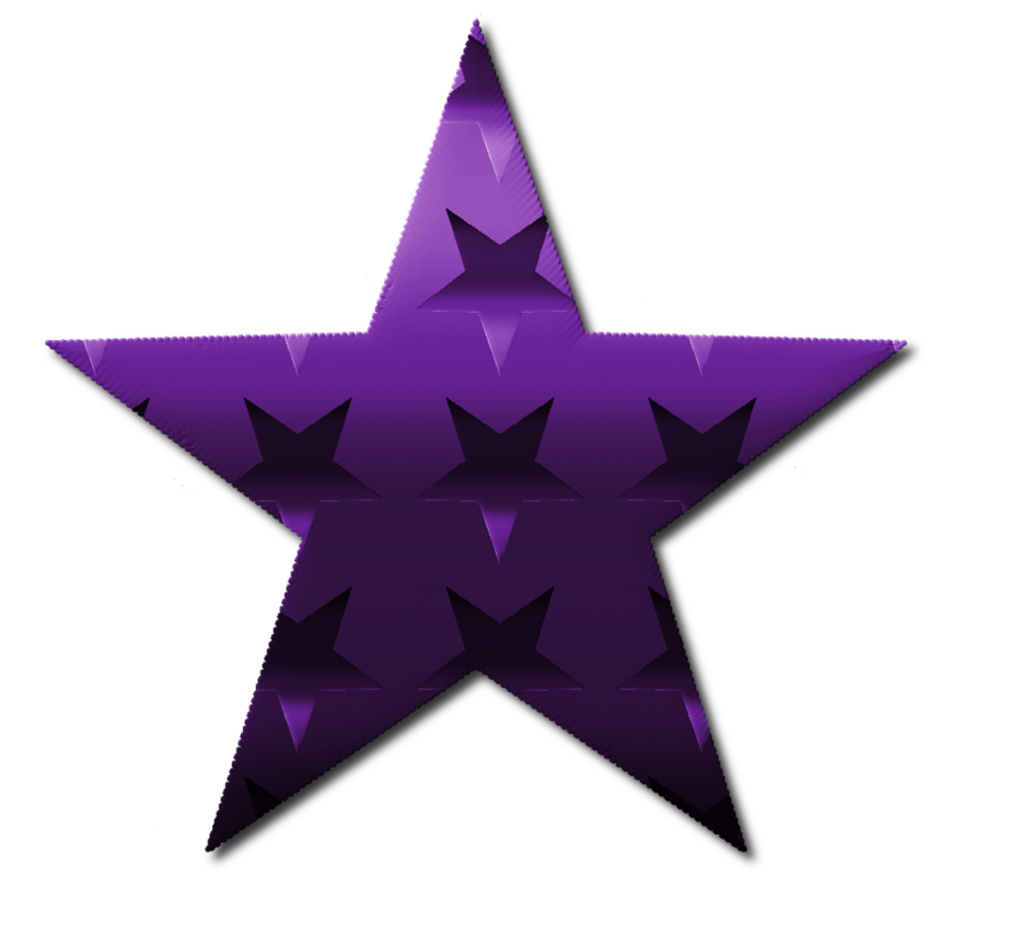 Clipart stars pencil. Star purple and in