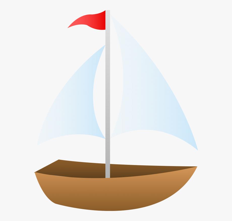 Sailboat drawing small free. Clipart boat sailing boat