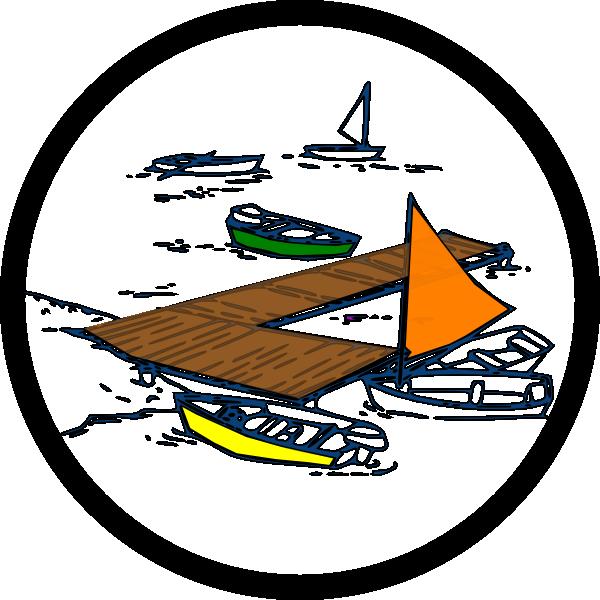 Dock clip art at. Clipart boat scuba