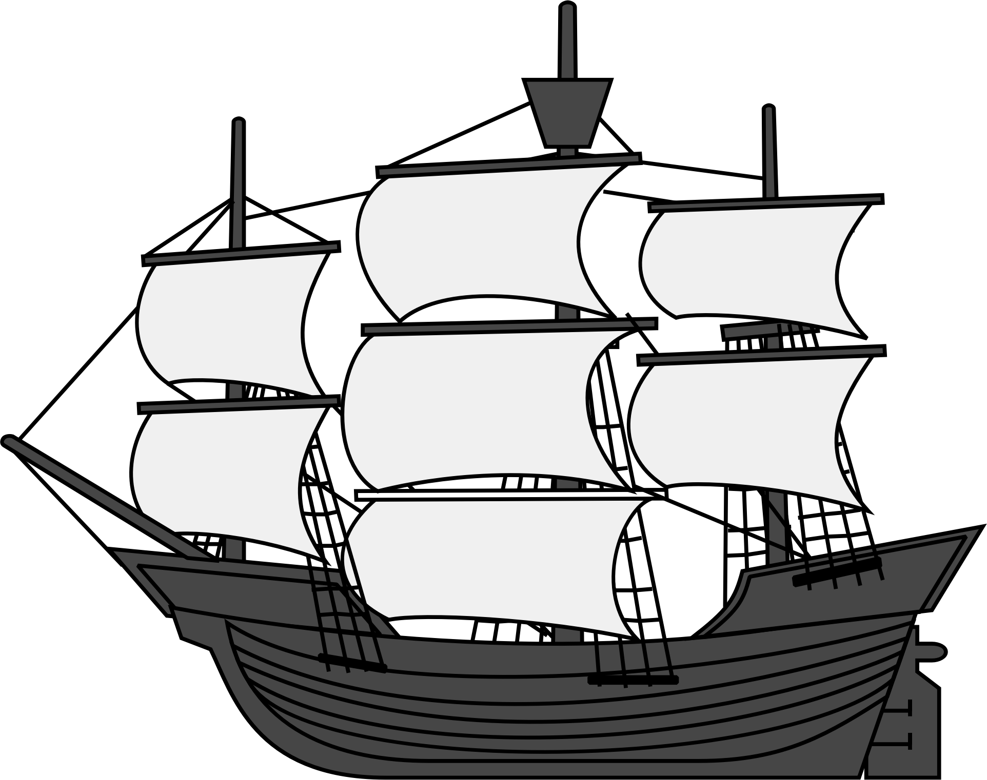 Clipart boat ship, Clipart boat ship Transparent FREE for ...
