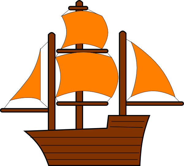 Orange pirate clip art. Clipart boat ship