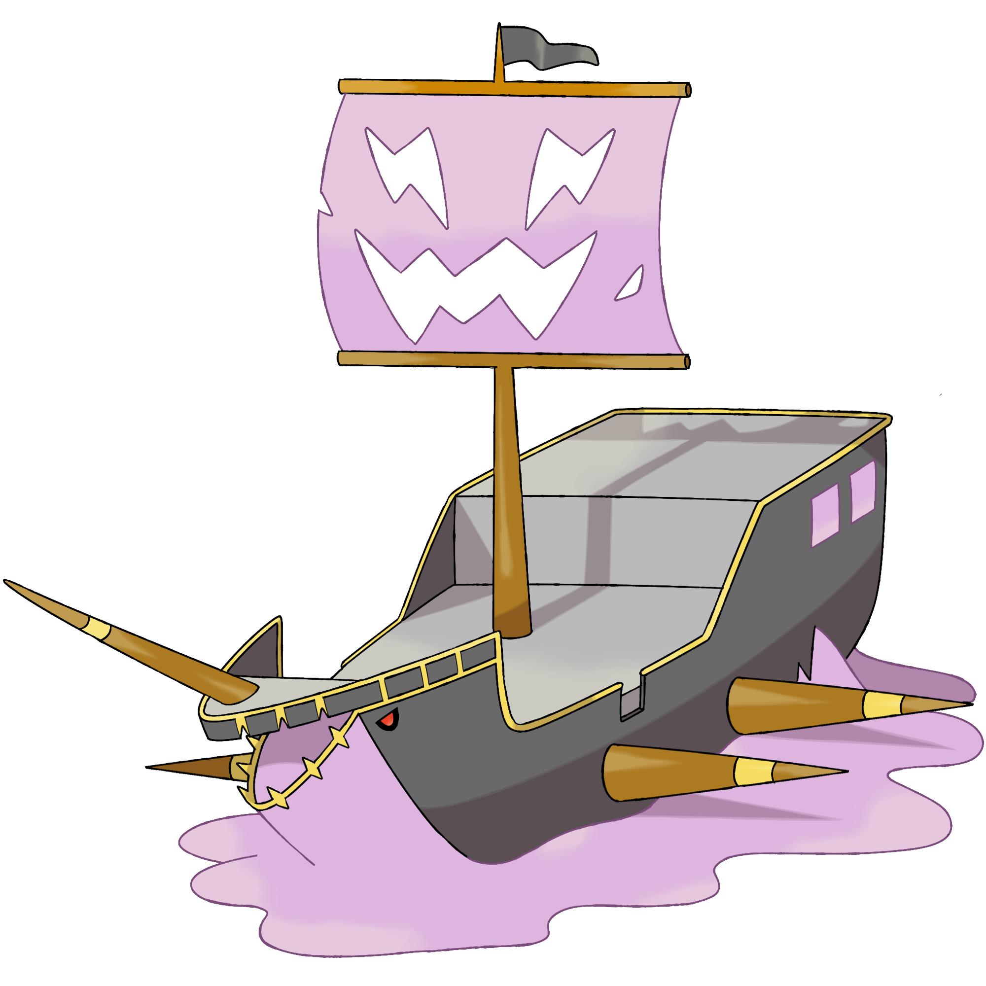 Shipwrath darkandwindie fakemon wiki. Clipart boat shipwrecked