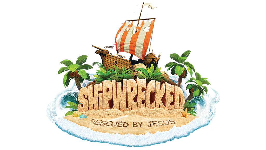 Logo group vbs tools. Clipart boat shipwrecked