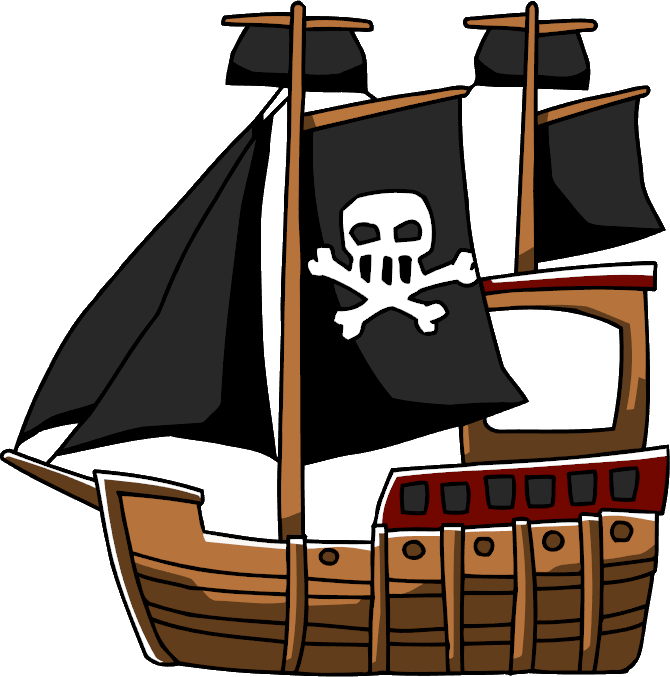 Pirate ship scribblenauts wiki. Clipart boat shipwrecked