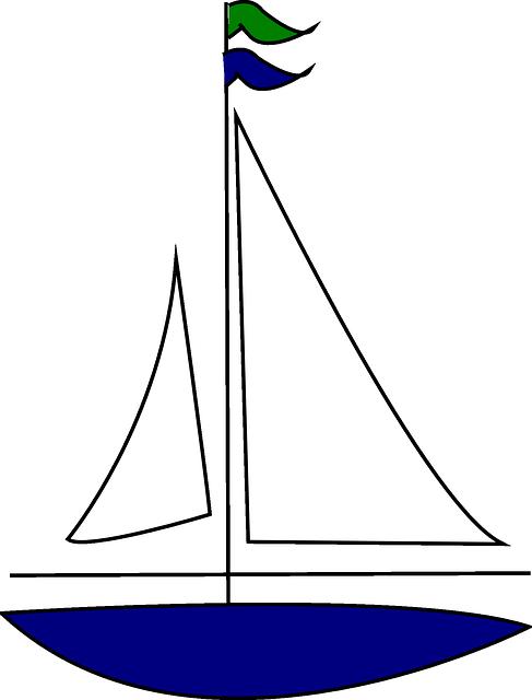 Yelkenli vekt rel google. Clipart boat simple