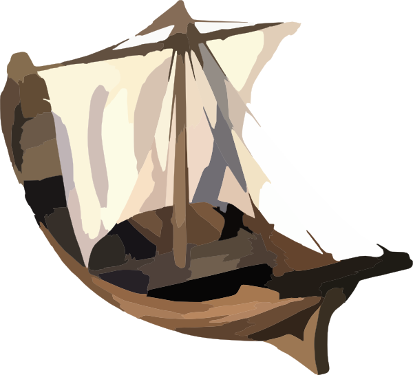 Fishing biblical free on. Clipart boat simple