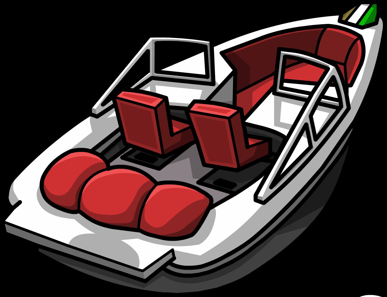 Clipart boat ski boat. Hydro hopper club penguin