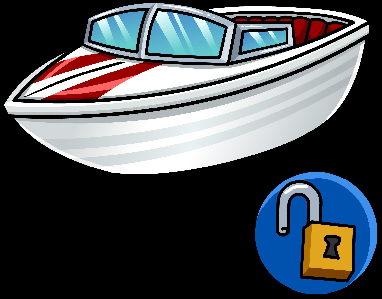 Image speed unlockable icon. Clipart boat ski boat