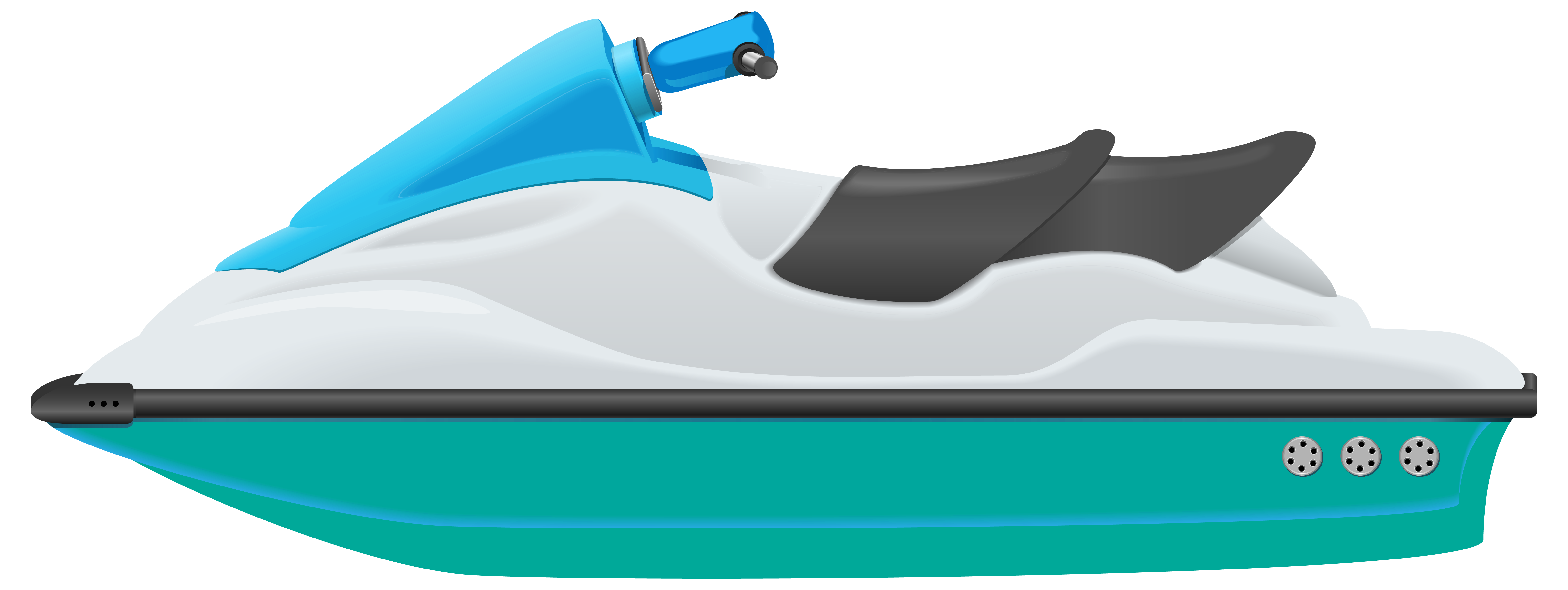 Jet ski png image. Boat clipart watercraft