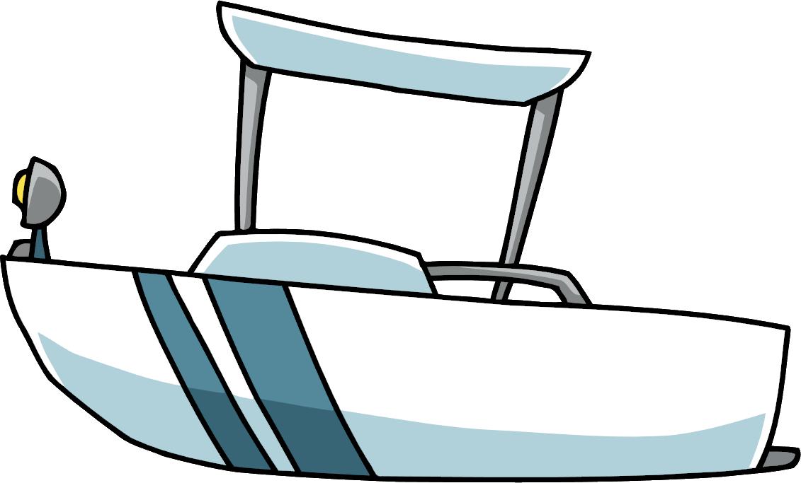Clipart boat skiff. Image patrol png scribblenauts