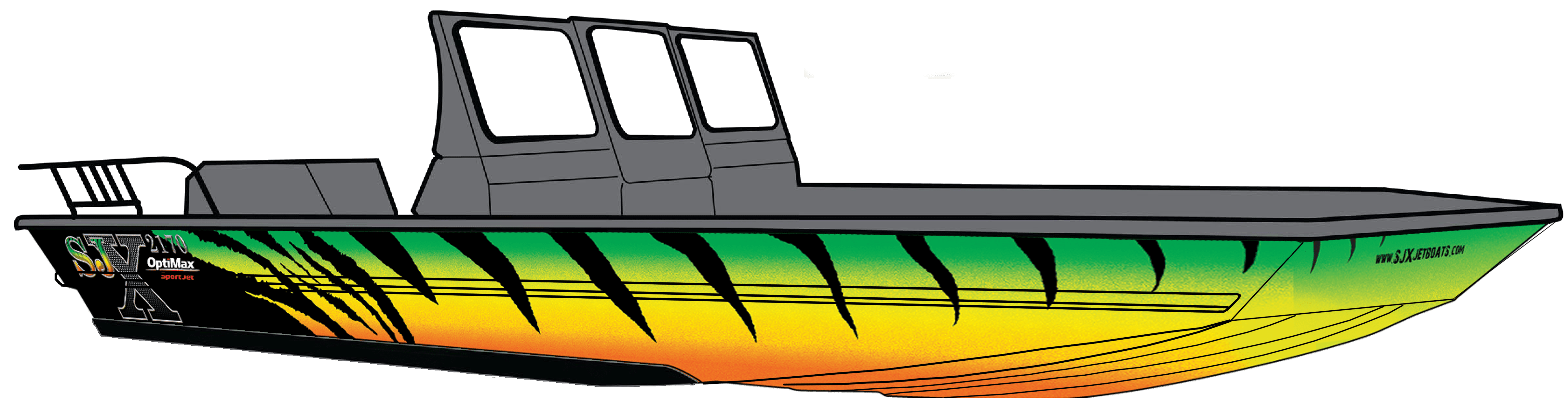 Sjx fishing models jet. Clipart boat speed boat