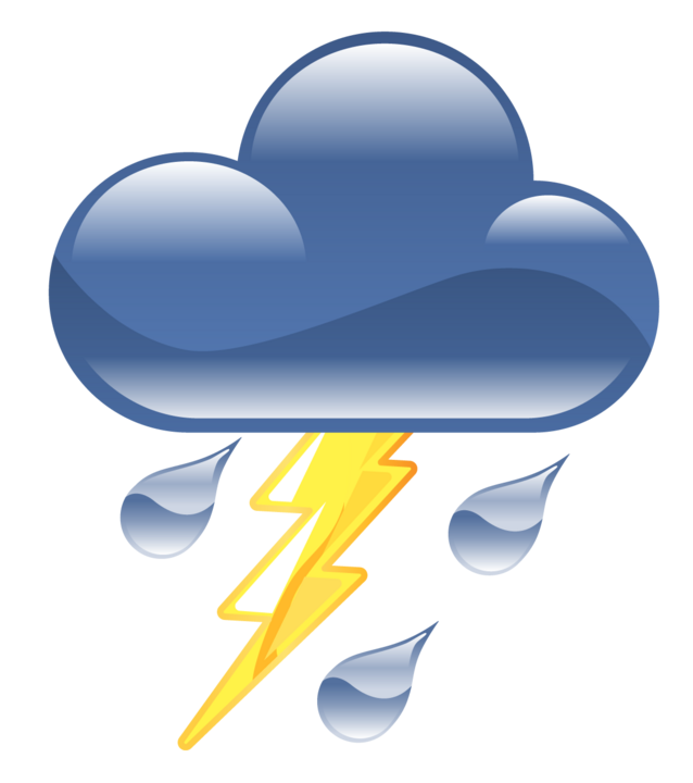 Thunderstorm stormy weather free. Clipart boat storm