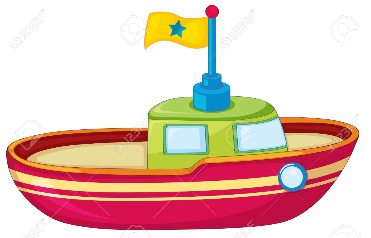 Fishing pencil and in. Clipart boat toy
