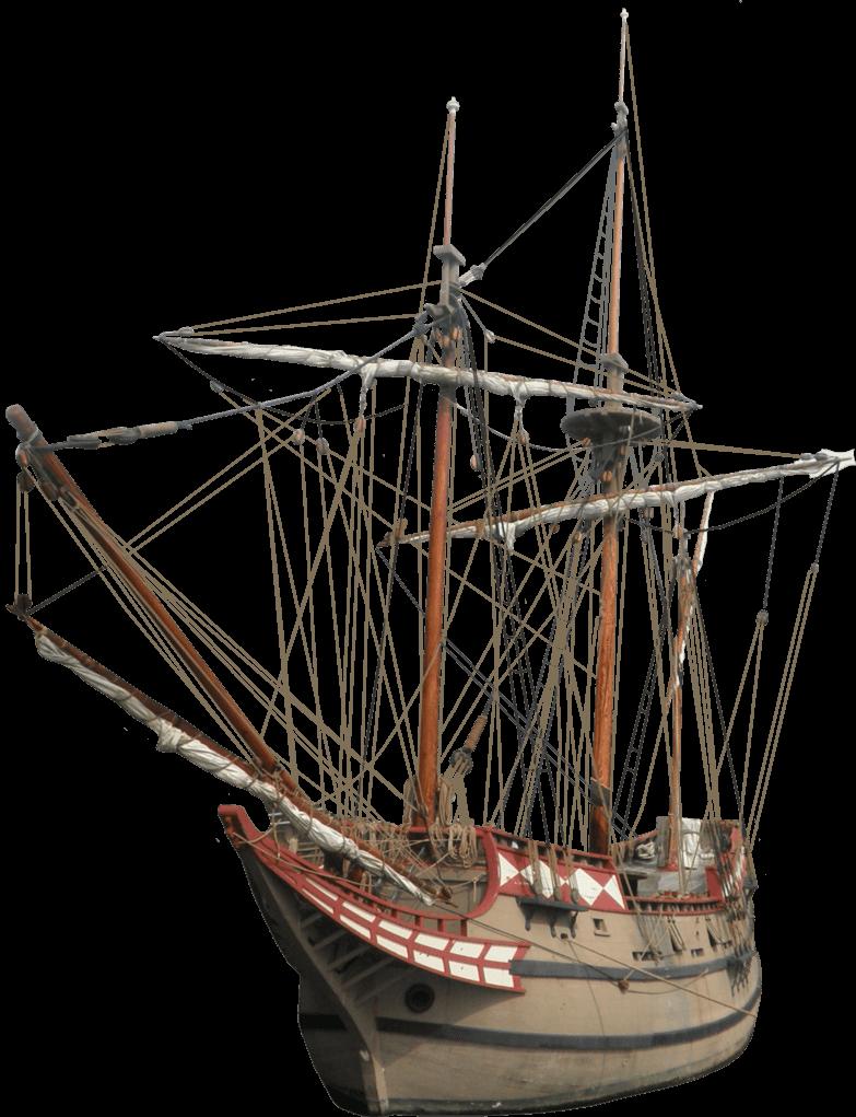 Old sailing ship png. Clipart boat transparent background