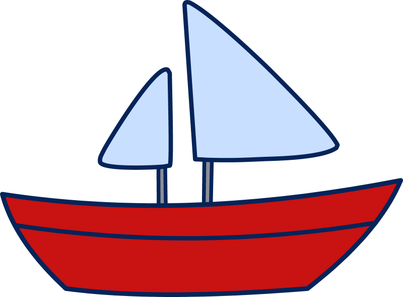 collection of sailboat. Nautical clipart yacht