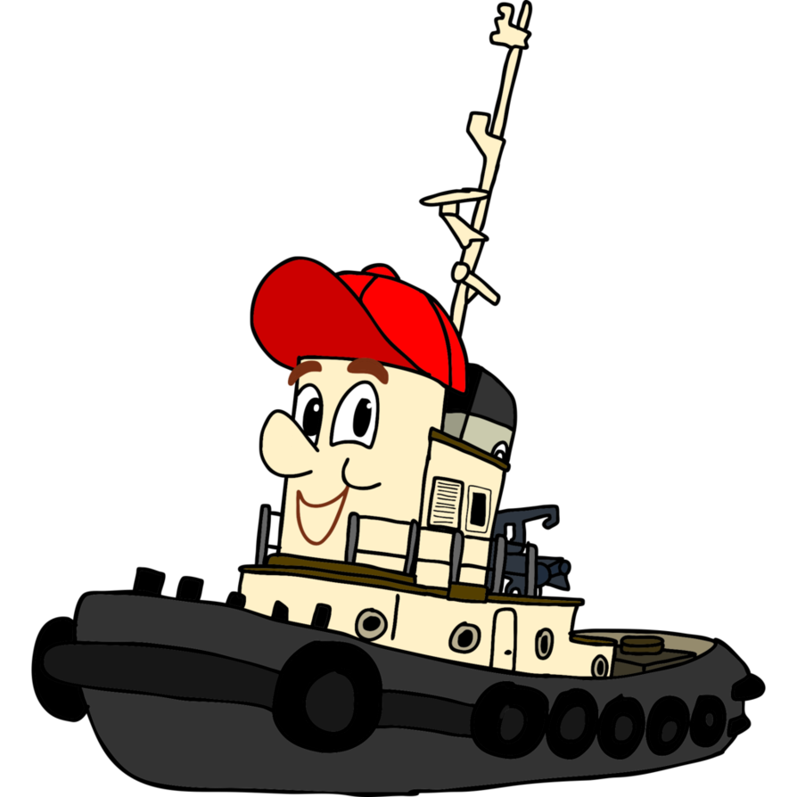 Clipart boat tug boat. Theodore tugboat by superzachbros