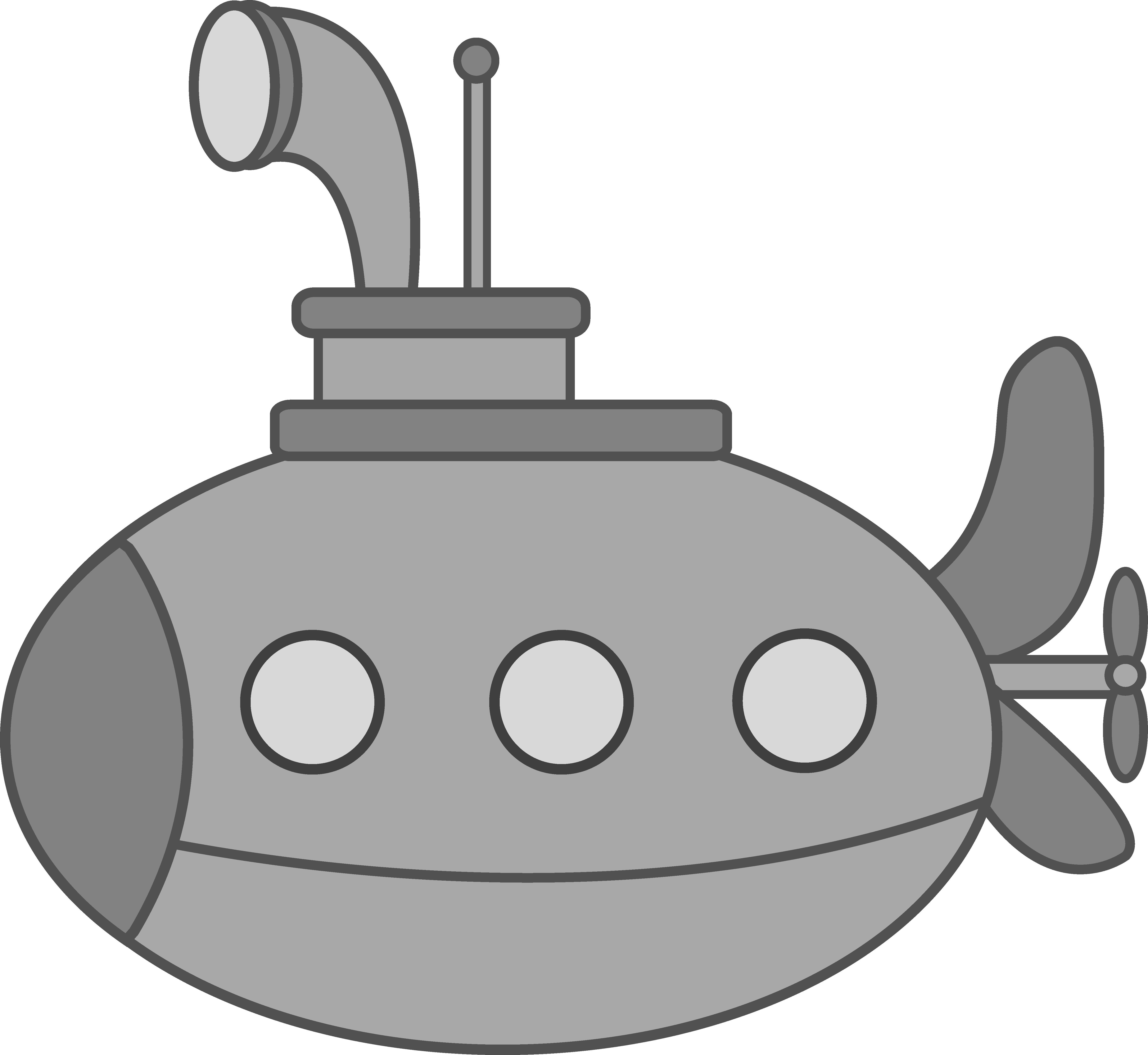Clipart door submarine. Cute silver free clip