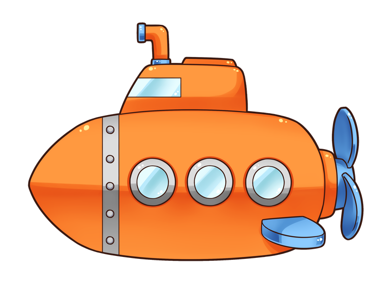 Clipart door submarine.  collection of cute