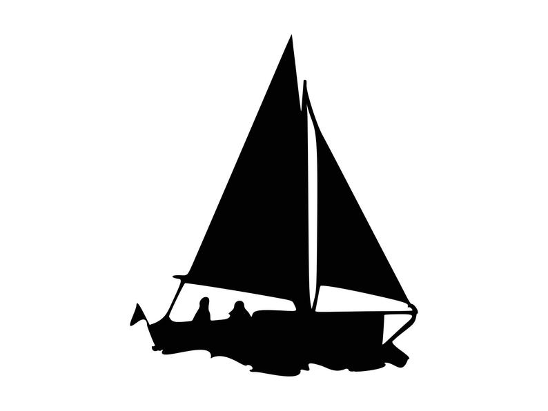 Sail svg dxf png. Clipart boat vector