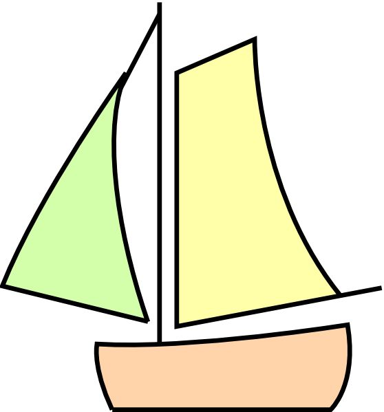 Sailing white clip art. Clipart boat vector