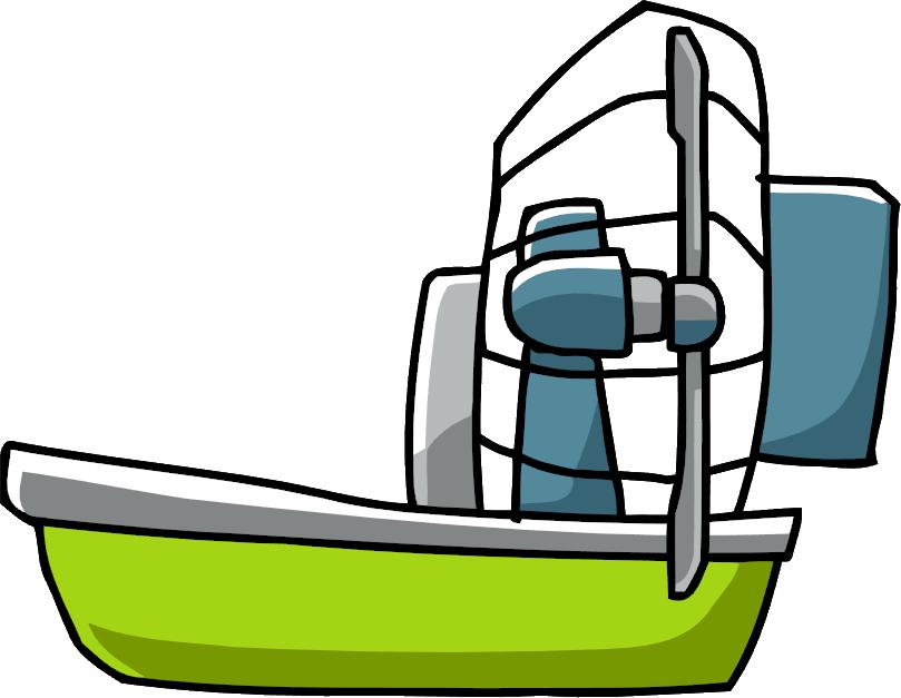 Clipart boat water transport. Airboat scribblenauts wiki fandom