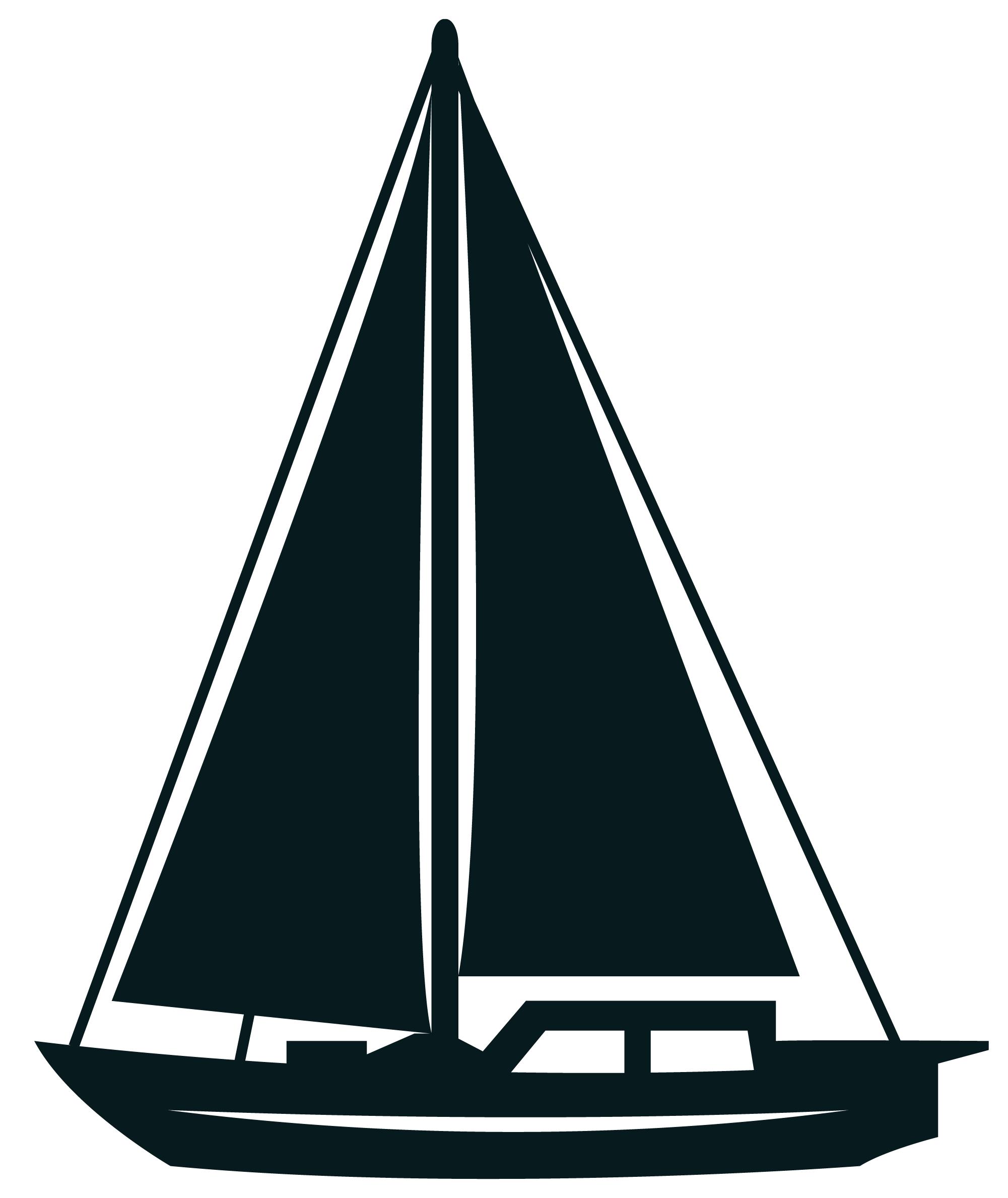 Sailing ship clip art. Orange clipart sailboat