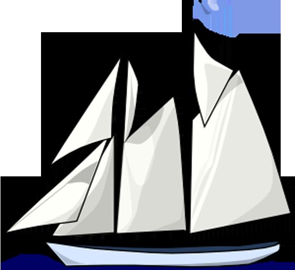 Sailboat clip art cartoon. Clipart boat watercraft