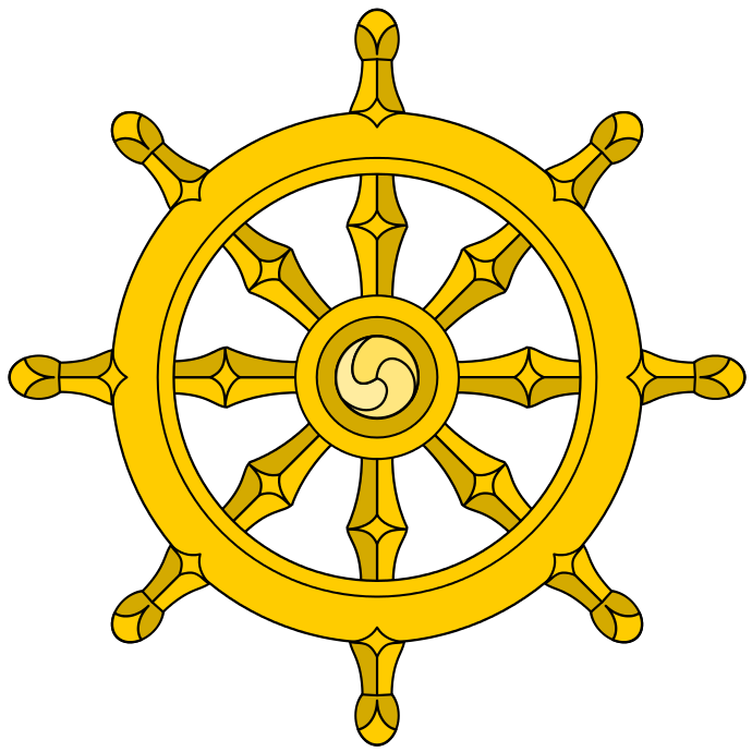 Ships with eight spokes. Words clipart wheel