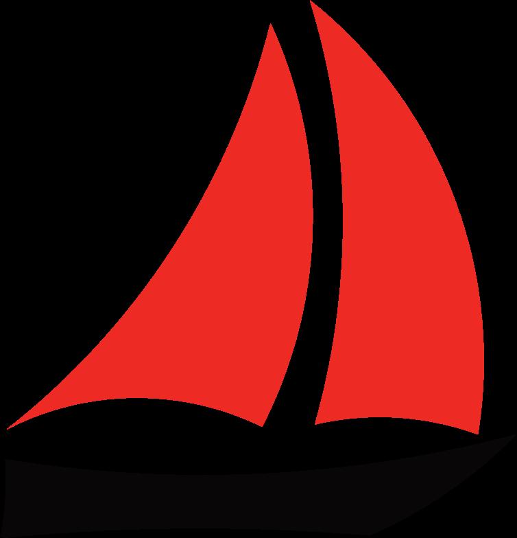 Sailboat logos . Clipart boat wind