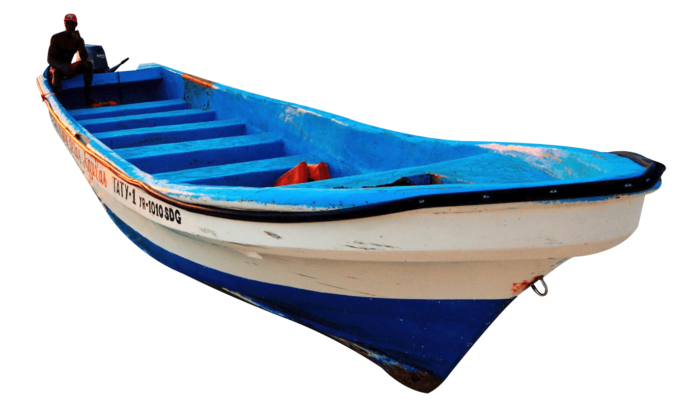 White blue wooden transparent. Clipart boat wood