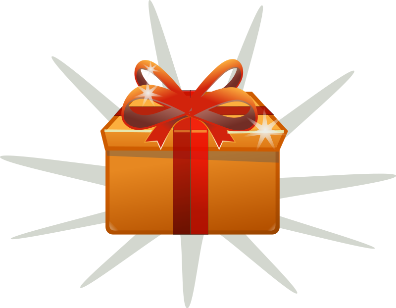 Clipart box animated. Gift clip art png