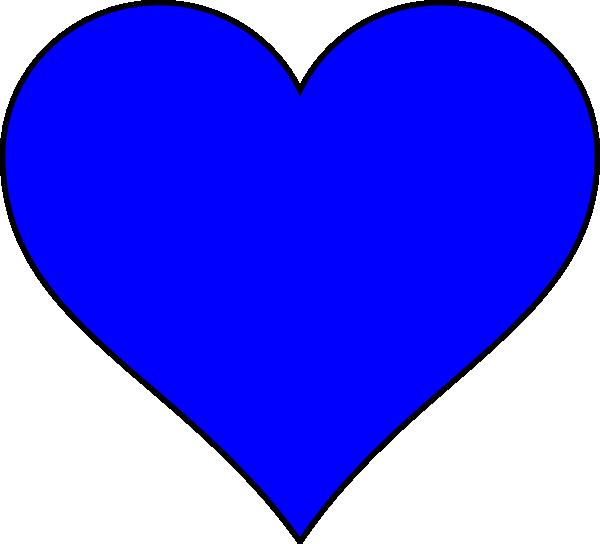 Blue hearts png. Shapes heart shape clip