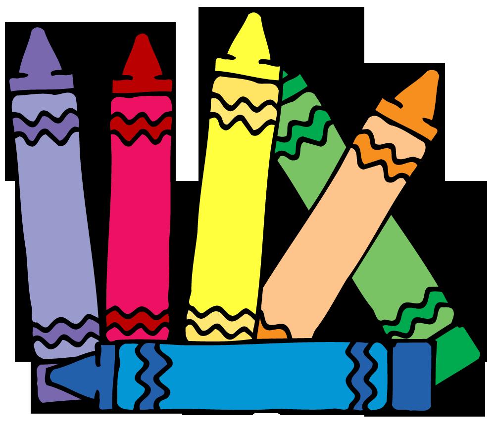 Color clipart colored pencil. Crayon box panda free