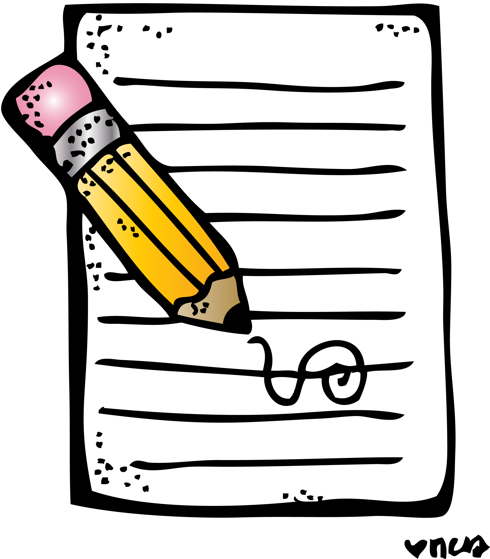 handwriting clipart homework