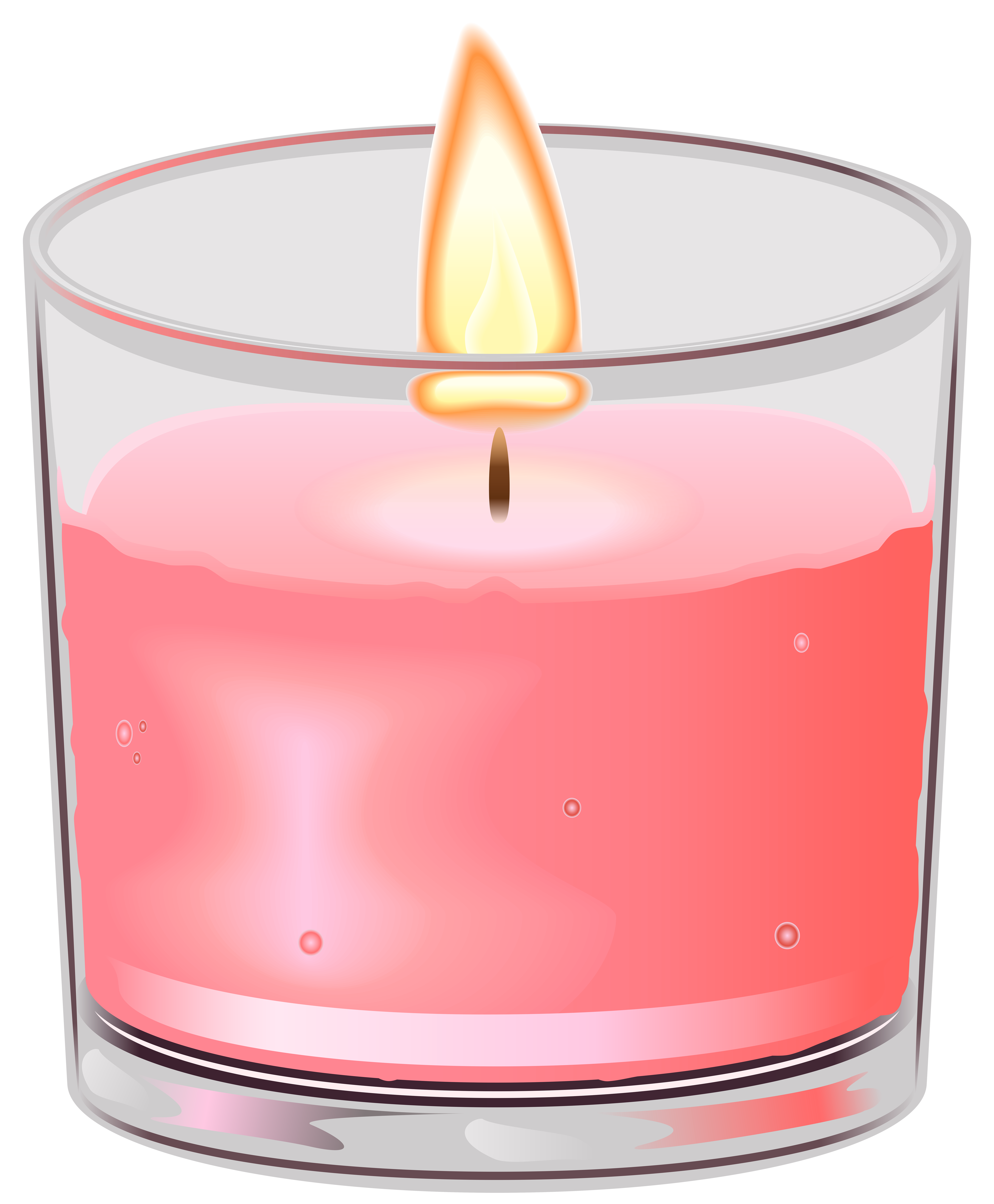 Clipart book candle. In cup png clip