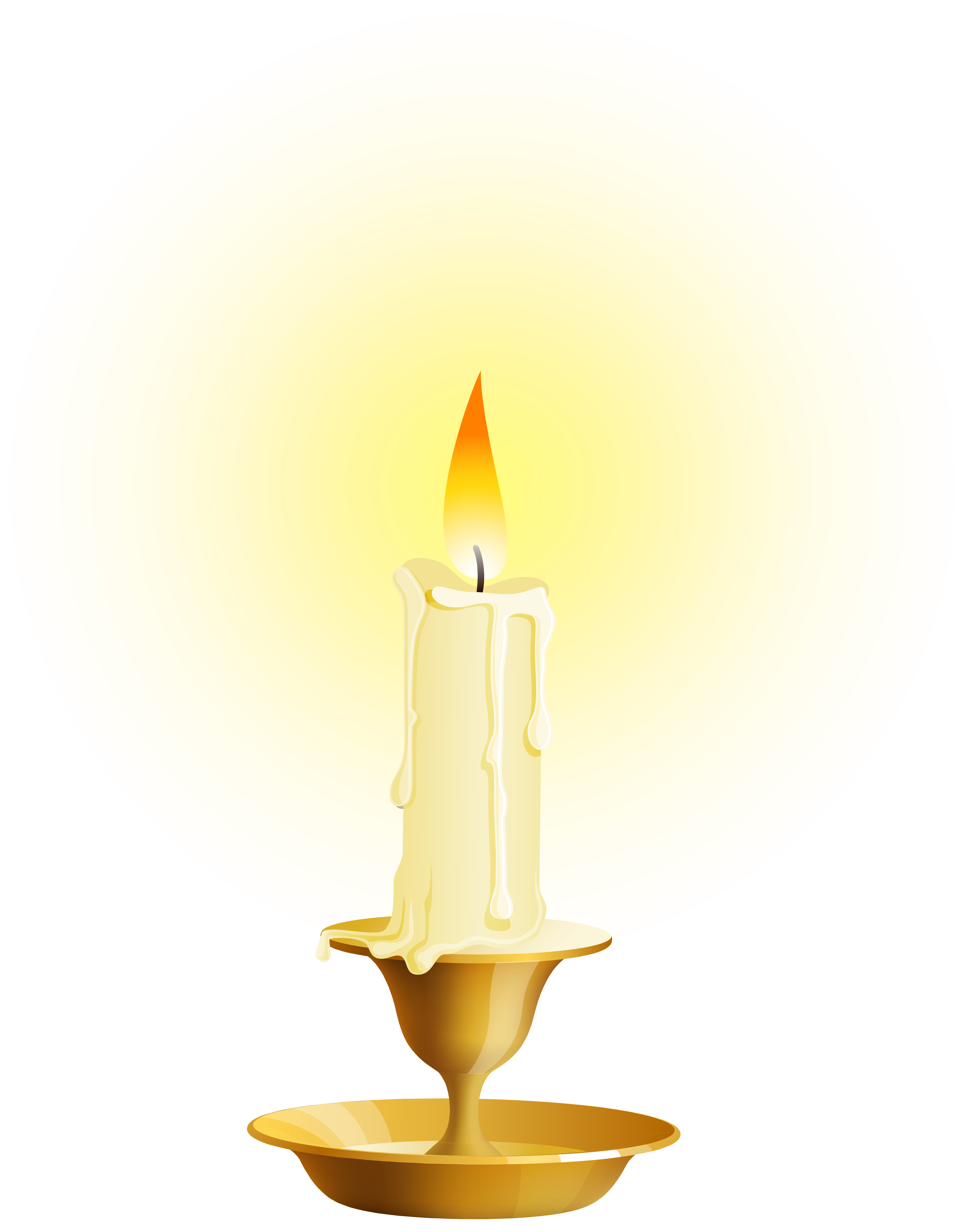 White png clip art. Clipart books candle