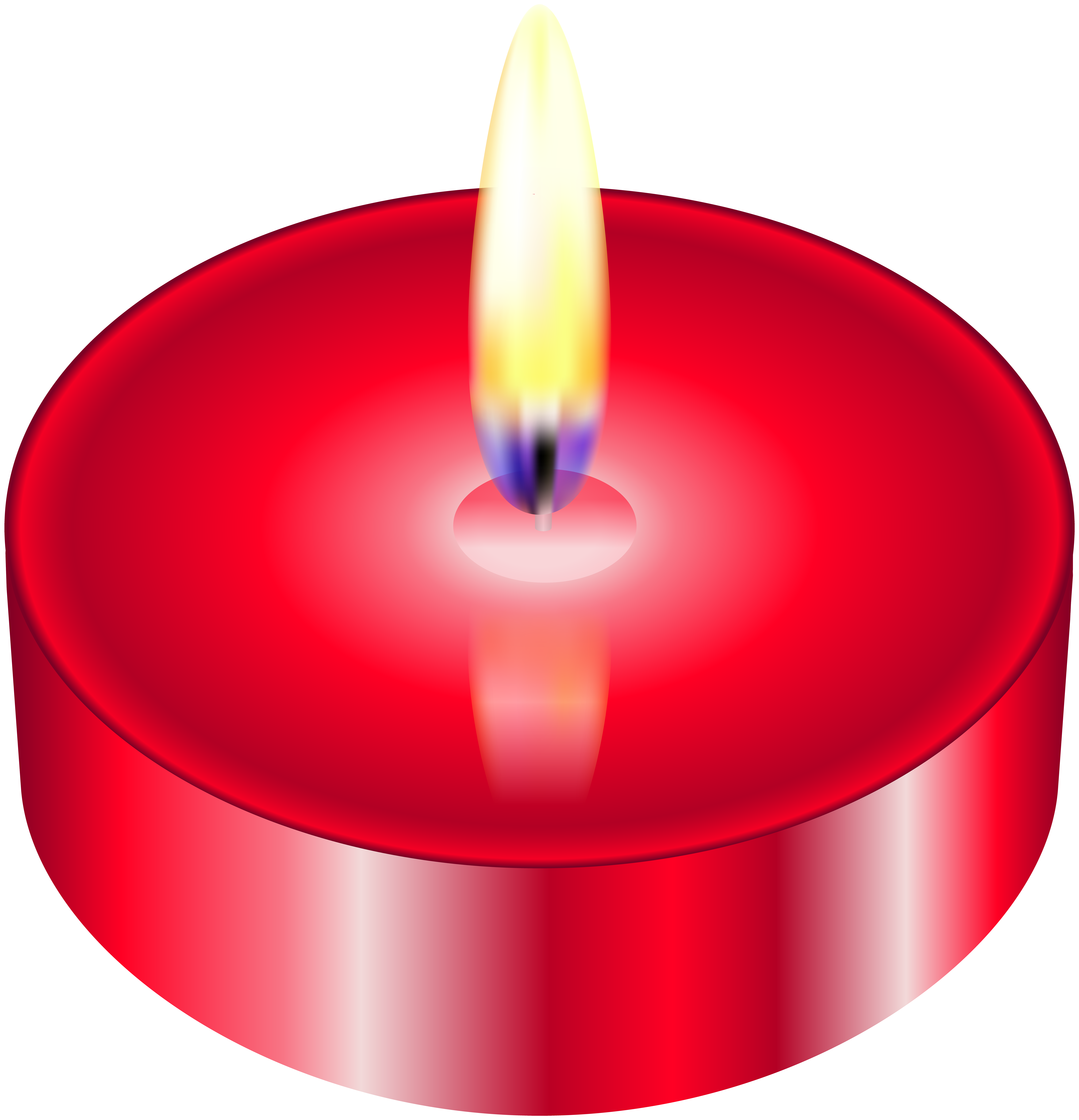 Clipart book candle. Red tealight png clip