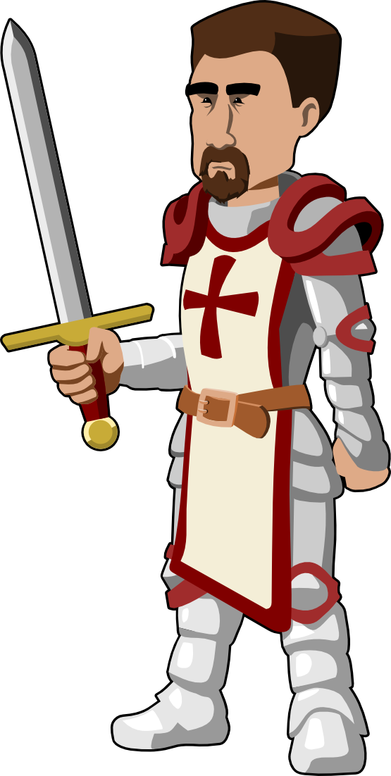 Knight christmas xmas toy. Clipart castle animated