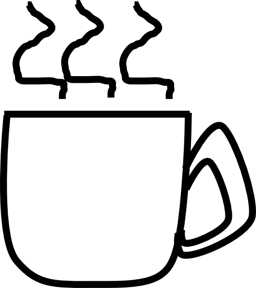 Cup clip art at. Clipart coffee book