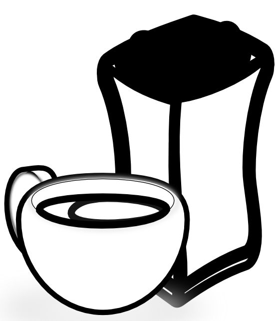 Clipart coffee book. Clipartist net clip art
