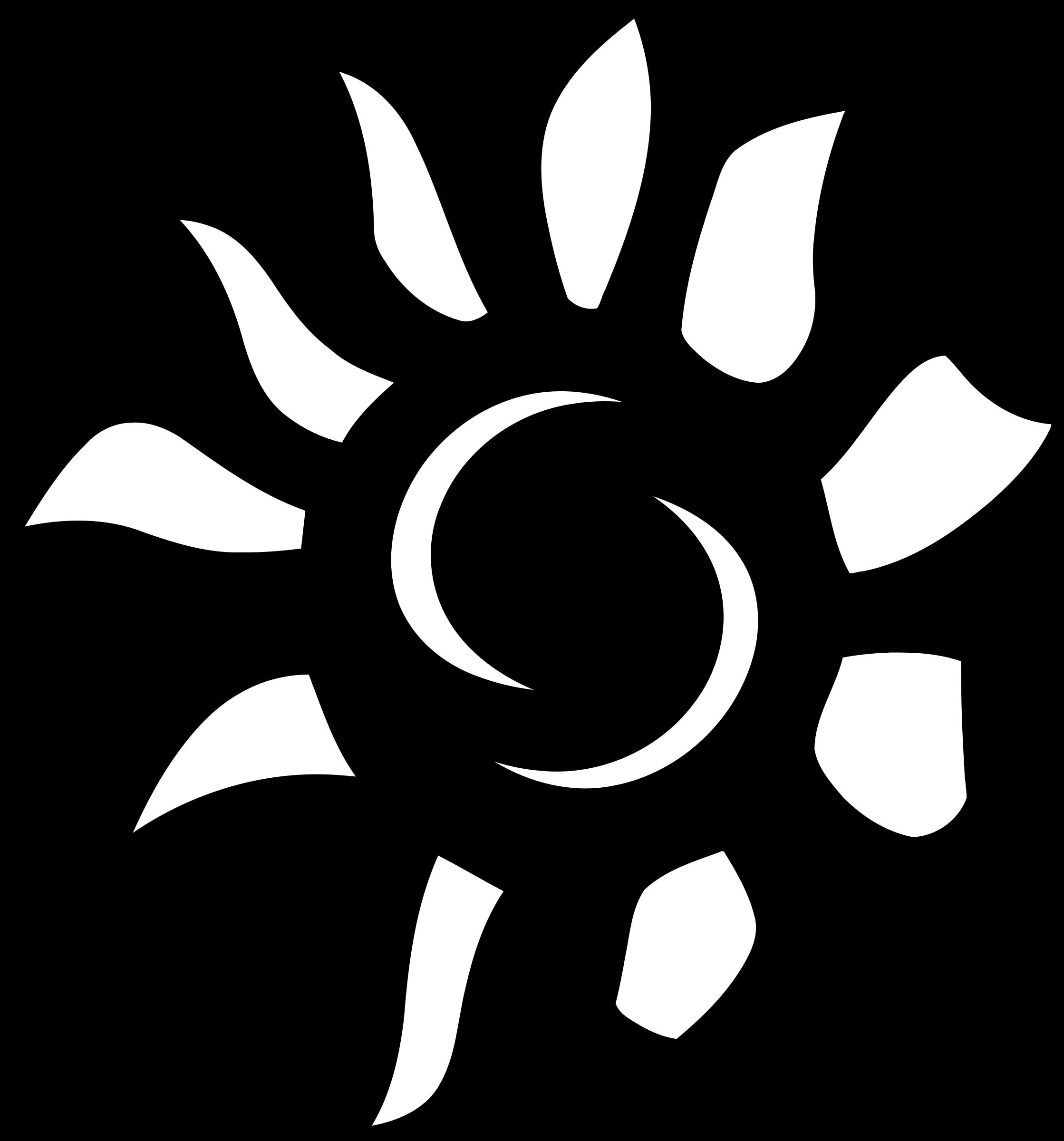 Clipart book coloring. Sun icon big image
