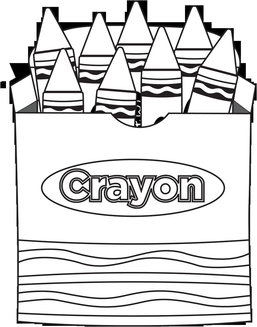Crayon clipart coloring contest, Crayon coloring contest ...