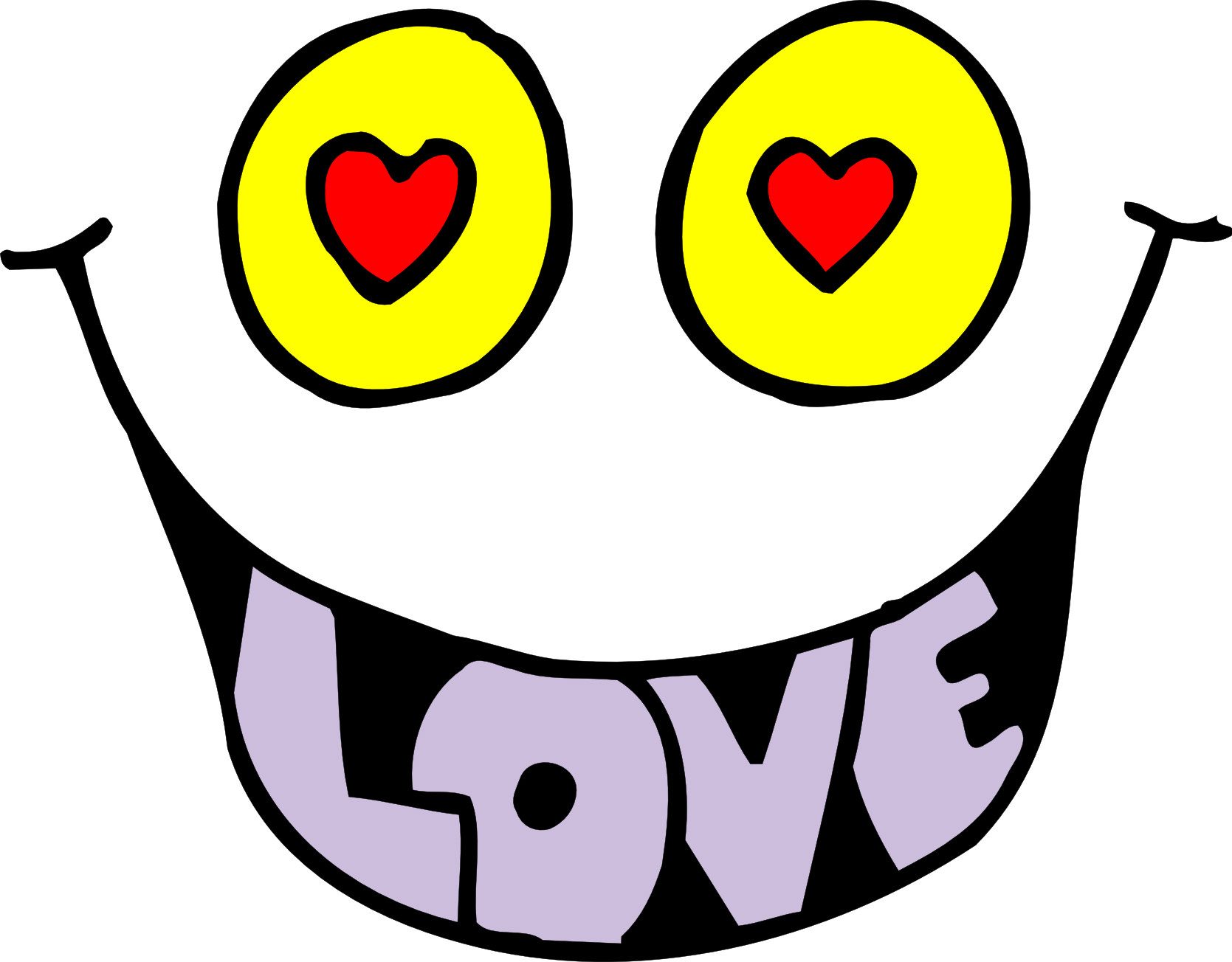 Free love cliparts download. Eyes clipart outline