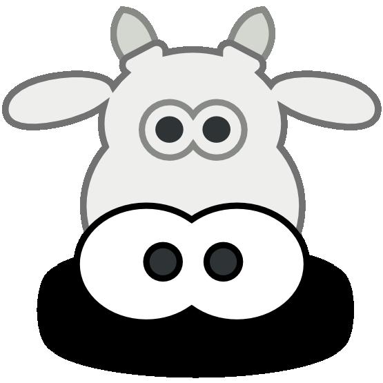 Cow face panda free. Longhorn clipart cartoon