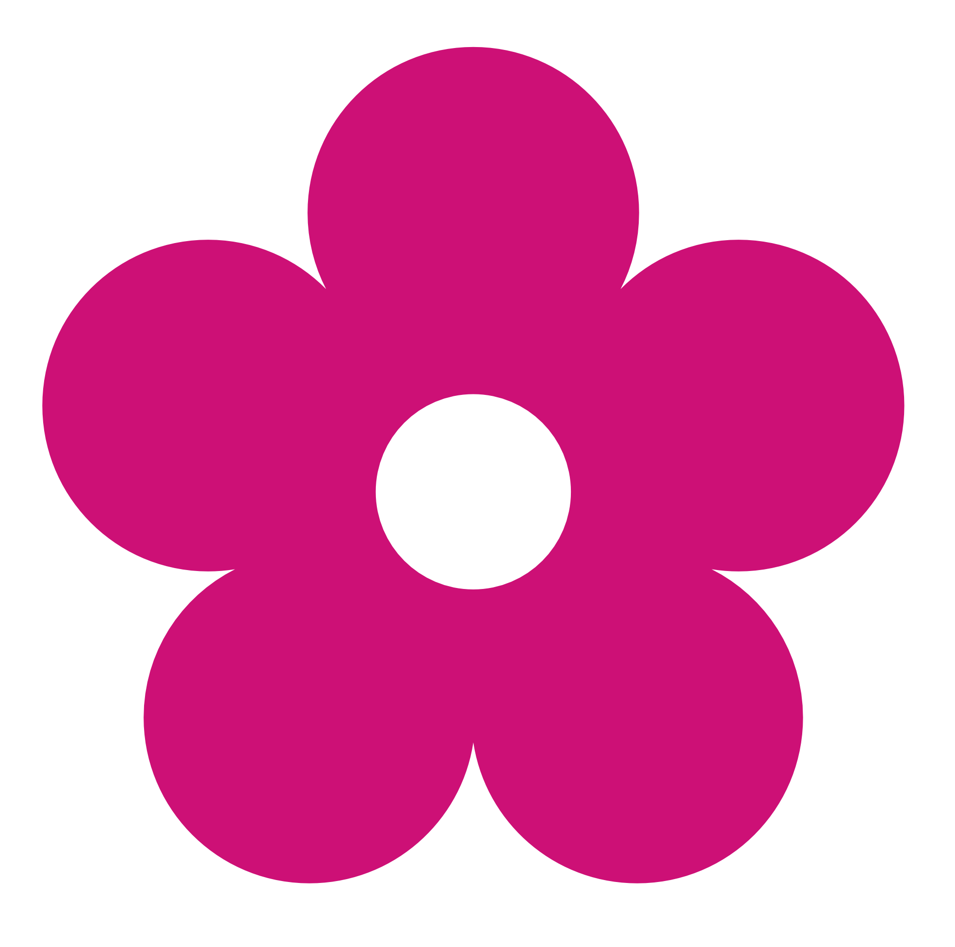 Image flower clipartpink clip. Number 1 clipart pink