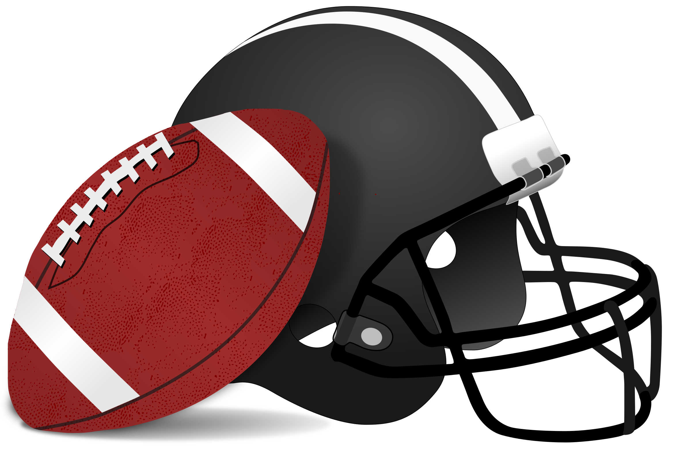 Clipart football linemen. American and helmet big