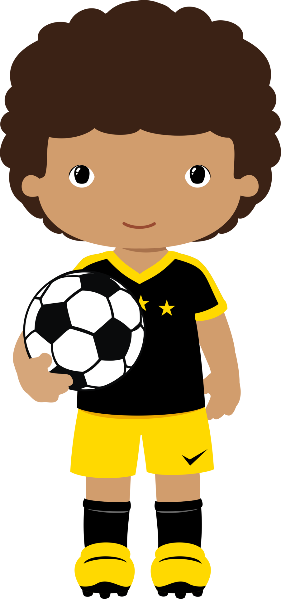 shared ver todas. Clipart children football