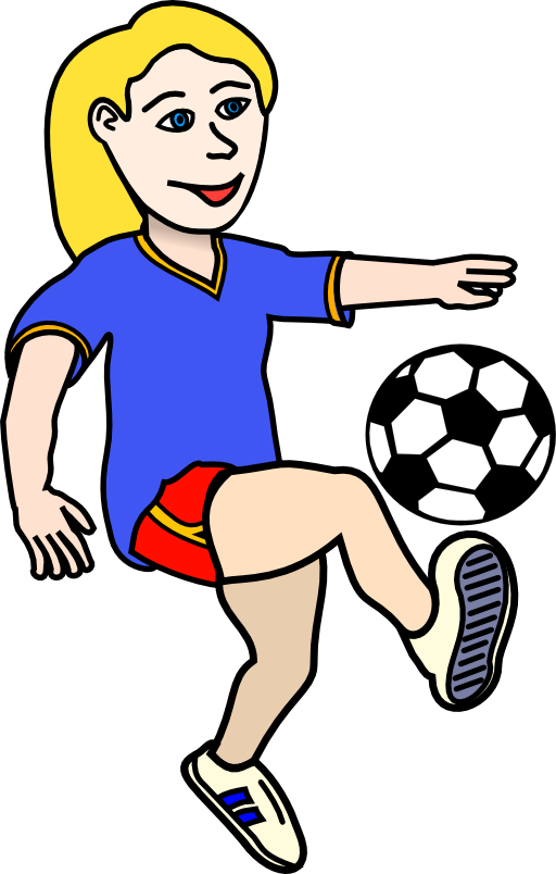 Clipart children football. Soccer frames illustrations hd