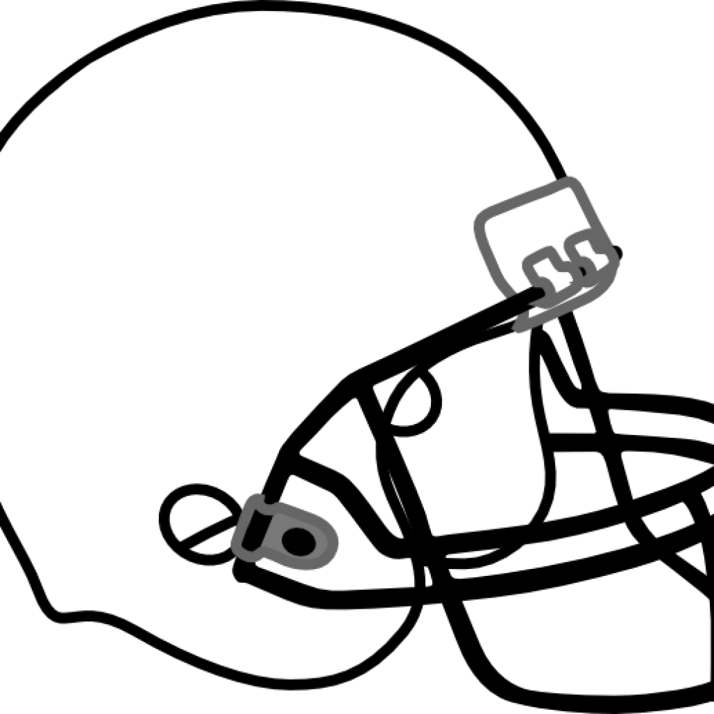 Clipart football book. Outline free hatenylo com