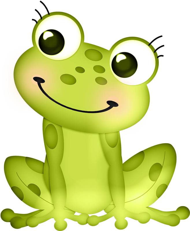 frog clipart shadow